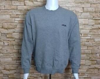 FILA sweatshirt crewneck jumper LL size