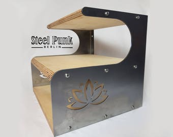 "Bedside table/Board ""Lotus"""