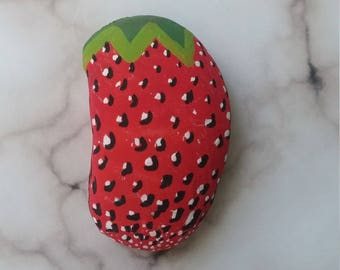 Handmade Strawberry rock