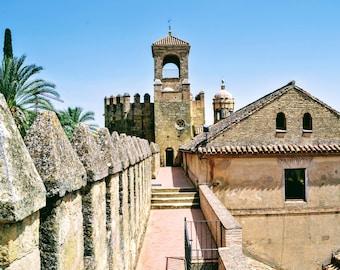 Cordoba Spain Photography, Spain, Europe, The Alcazar Photo, Travel Photography, Wall Art, Home Decor, Photography Prints