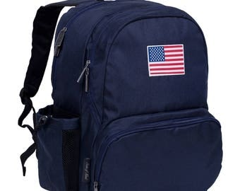 State of Mind USA Flag 17 Inch Backpack