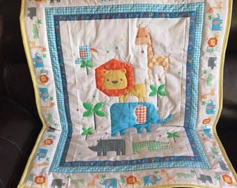 Hand Sewn Baby Quilt