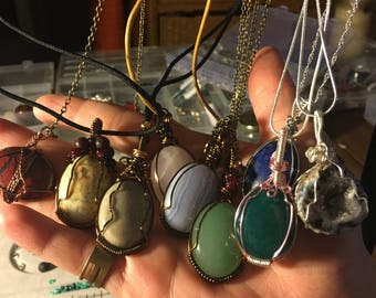 Wire Wrapped Cabochan