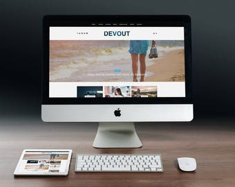 Best Blog Wordpress Theme Premium Premade Wordpress template Clean Full WP Theme