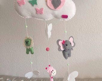 """Mobile """"Clouds"""" zoo"""