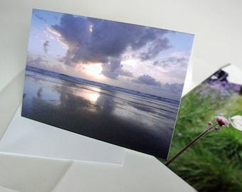 A5 Sunset Photograph Greeting Card
