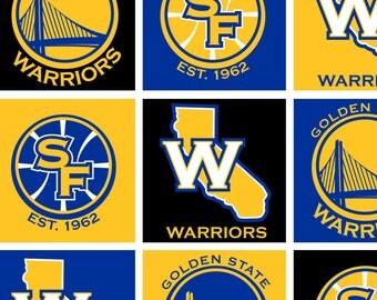 Golden State Warriors Fleece-Tied Blanket