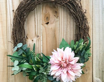 Handmade Grape Vine Olive Branch Wreath | Home Decor | Wedding Decor | Nursery Decor |everyday wreath