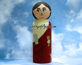 John the Beloved - Wooden Saint, Confirmation Baptism Gift, Patron Saint