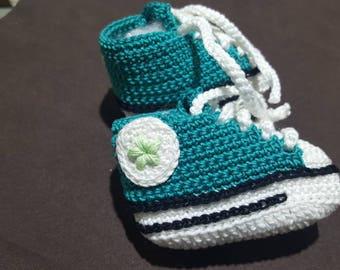 Baby Converce cotton Shoes 100x100 Handmade