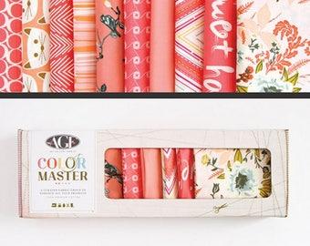 10pc Fat Quarters Bundle Coraline AGF Color Master