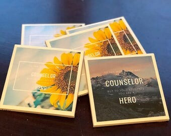 Custom Ceramic Coasters