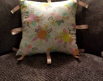 Decorative Floral Baby Pillow