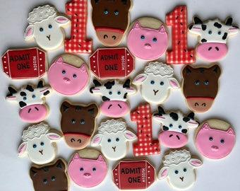 Farm Animal Cookie