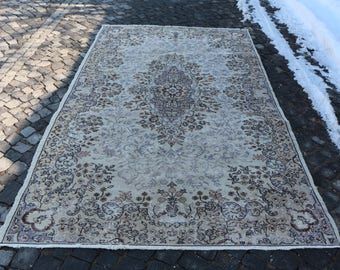 Rustic Rug Anatolian Floor Rug Free Shipping 5.5 x 9.3 ft. Decorative Floor Rug Apartment Decor Rug Home Design Rug Bohemian Rug MB34