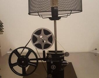 Vintage movie lamp