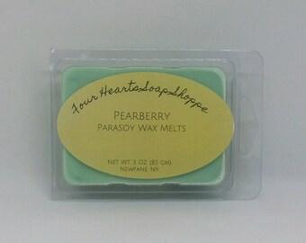 Wax melt, Pearberry, wax tart, clamshell wax melt, soy wax, wax warmer