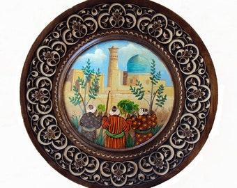 Decorative Plate. diameter is 30 sm