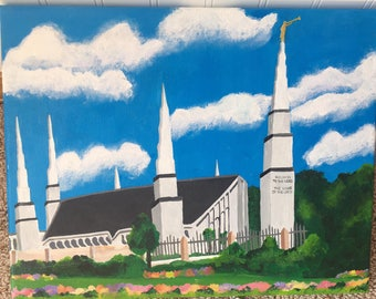 LDS Temple Paintings