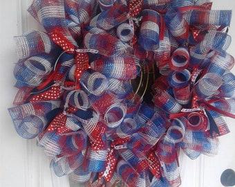 4th of July Wreath/Spring wreath
