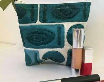 Silk Make-Up Bag, Silk Cosmetic Bag, Purse