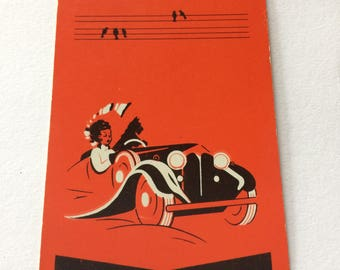Vintage playing card Waddington's.