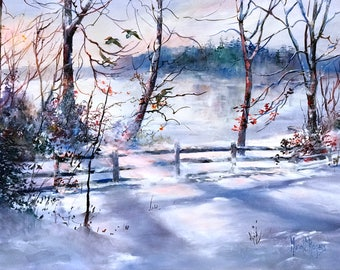 Winter on the Water