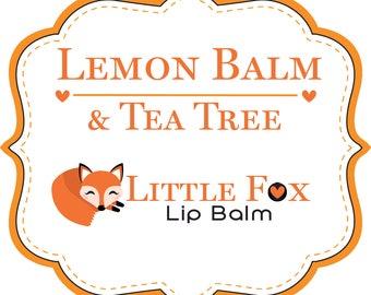 Lemon Balm & Tea Tree Lip Balm