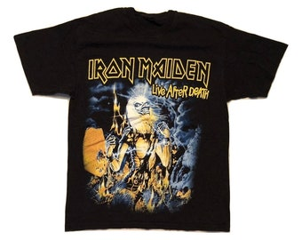 Iron Maiden T shirt 90s - women S