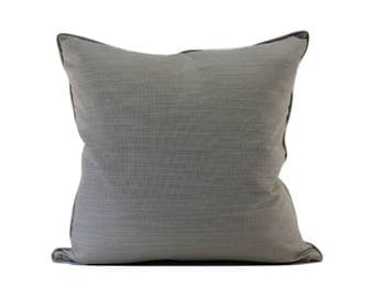 Self-corded Textured Decorative Pillow Cover