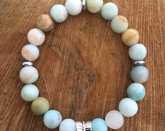Howlite 8 mm bracelet