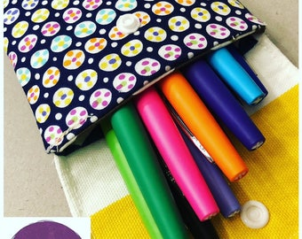 Fabric Pen Pouch
