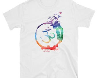 OM yoga t-shirt, om shirt, om t-shirt, yoga shirt, om gifts, yoga gifts