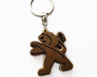 Personalized Wooden Keychain/keychain wooden/Personalized Wooden KeychainFord