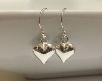 Sterling Silver or Rose Gold earrings