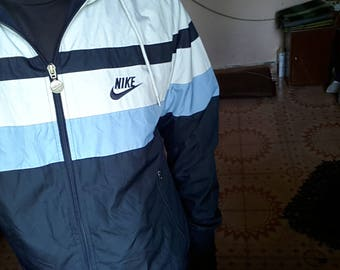 Nike windbreaker jacket medium size multicolour nike swoosh vintage jacket 90s