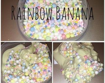 Rainbow Banana Slime