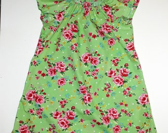Flutter sleeve dress 5-6 years