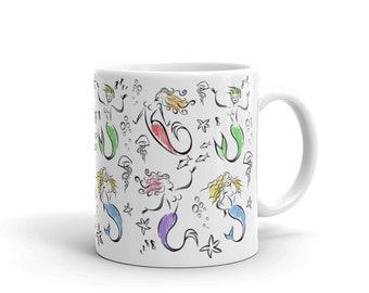 Merry Mermaids Mug