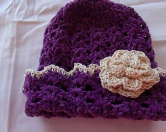 Chenille babt Hat