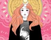 Little Witch Book - Inktober Illustration Zine