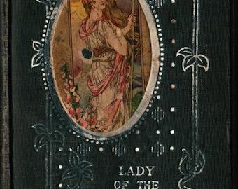 Lady of the Lake + Sir Walter Scott + Vintage Literature Book