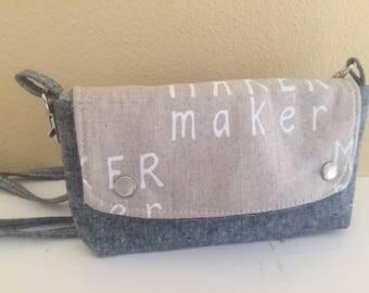 The Hipster Bag- A Modern Fannie Pack- Maker Maker