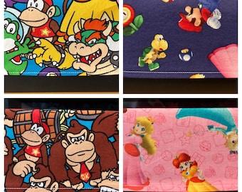 REVERSIBLE Nintendo Switch Cover - Sleeve - Dock Sock - Docking Station Cover
