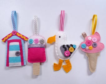 Seaside - Large Kit - Felt sewing kit