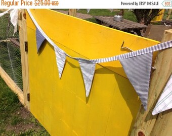 40% OFF- Striped  Bunting-Vintage Collection-For the Boys-Nautical