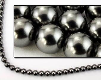 Swarovski 5810 10mm Black Pearl