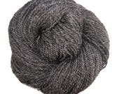 RESERVED for Devon, Gray Wool and Alpaca Yarn, for Knitting, Crochet, Weaving, and Felting, Farm Fresh, Heavy Worsted, 250 yards