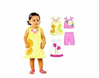 SALE Babies Top Dress Shorts New Look 6793 Sewing Pattern Size NB-S-M-L Uncut