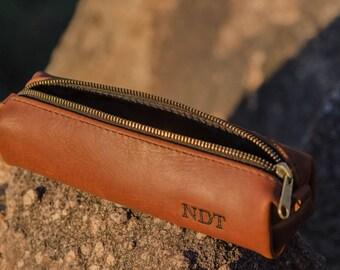 Handmade Leather Shaving Bag
